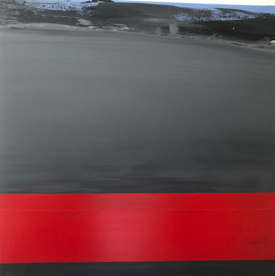 Red Grey sea 01