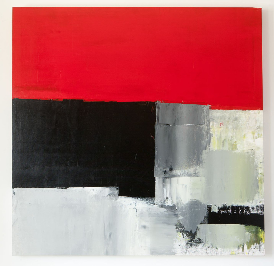 Red with Black Gery sea 01