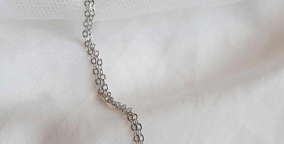 Lila Padlock Necklace