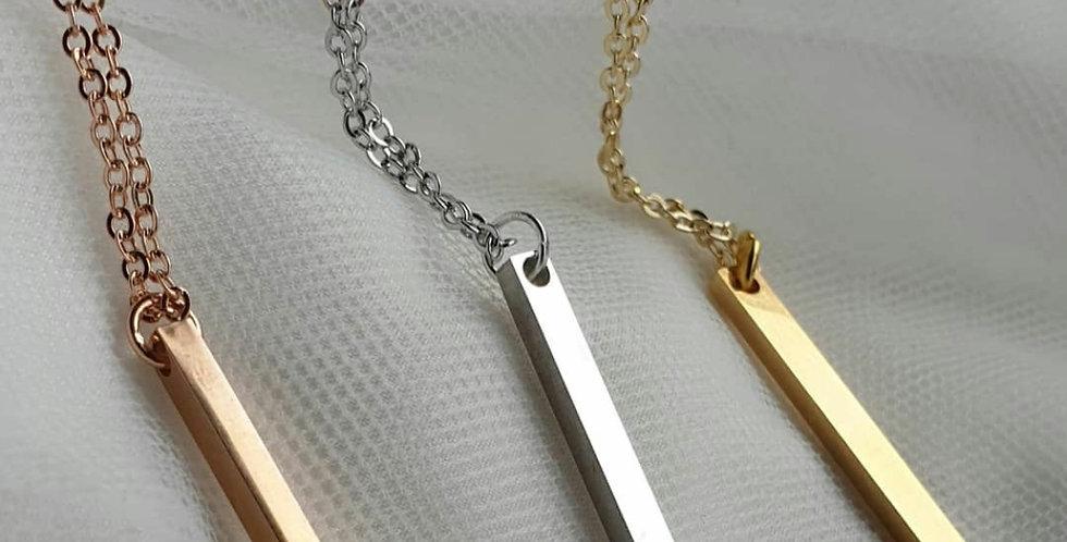 Capri Bar Necklace
