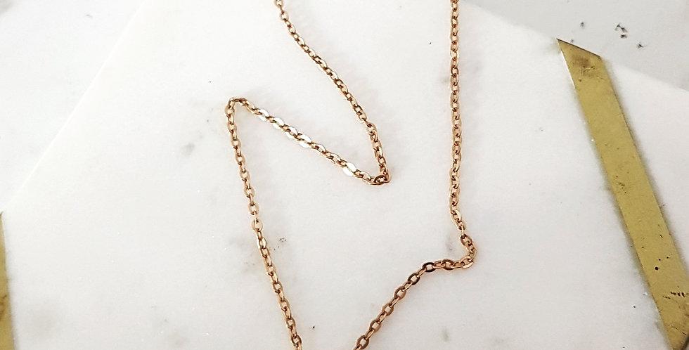 Presley Padlock Necklace