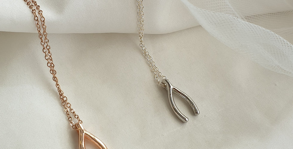 Make a Wishbone Necklace