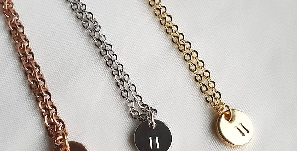 Pause Necklace