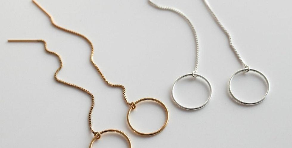 Celine Threader Earrings