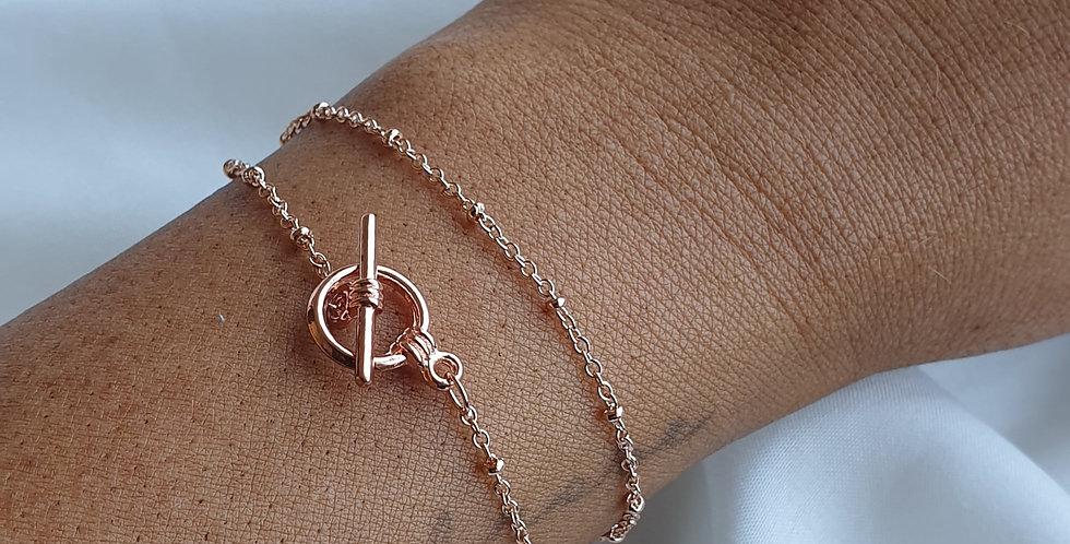 Azalea Toggle Bracelet