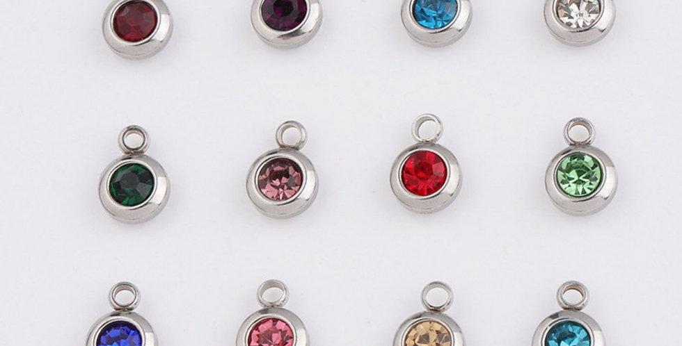 Swarovski Birthstone Charms