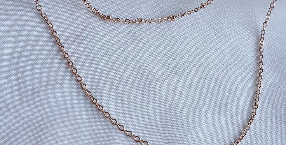 Azzura Double Layer Necklace