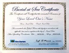Burial at Sea Certificat, IMG_3703 - Cop