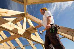 construction worker, framing