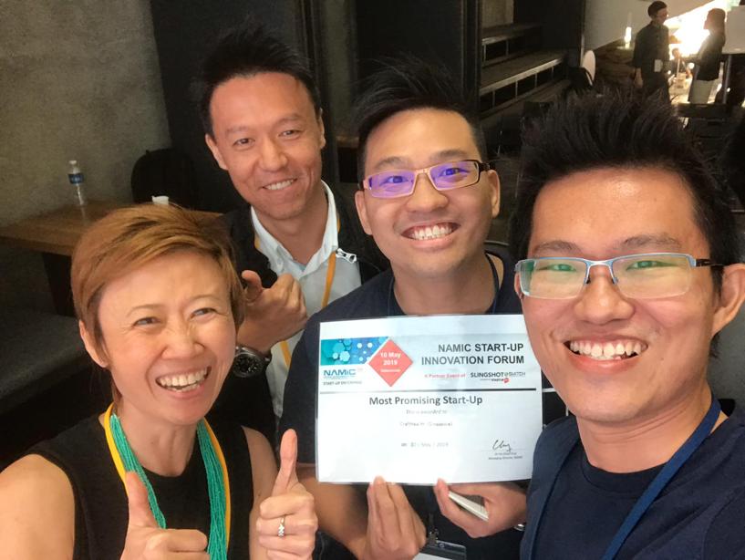 NAMIC Start-up forum 1st Runner up