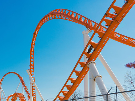 Does life feel like a roller coaster?