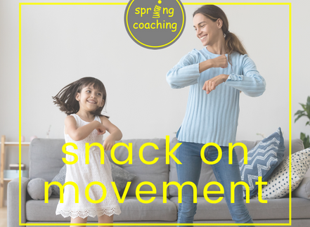 Snack on movement