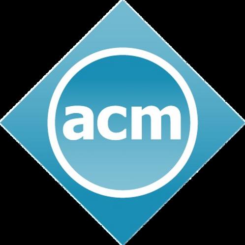 ACM International Student Membership