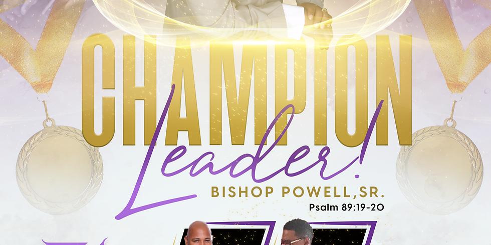 Bishop Powell's 70th Birthday & 31st Pastoral Anniversary Celebration