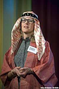 Modern leadership, Marieke Warmelink, De Balie, March 2014