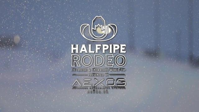 Halfpipe Rodeo SNowboarding