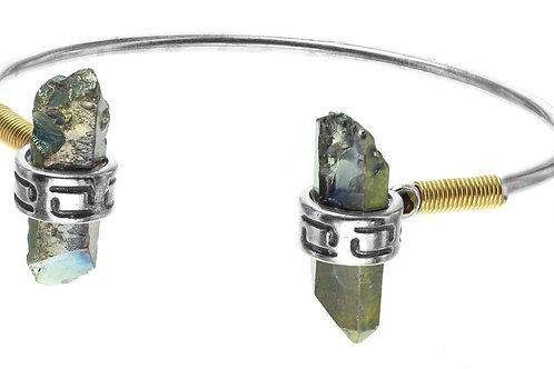 Bracelet rigide quartz  Lara