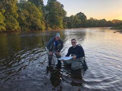 Scott Ramsay 1st fish 2018