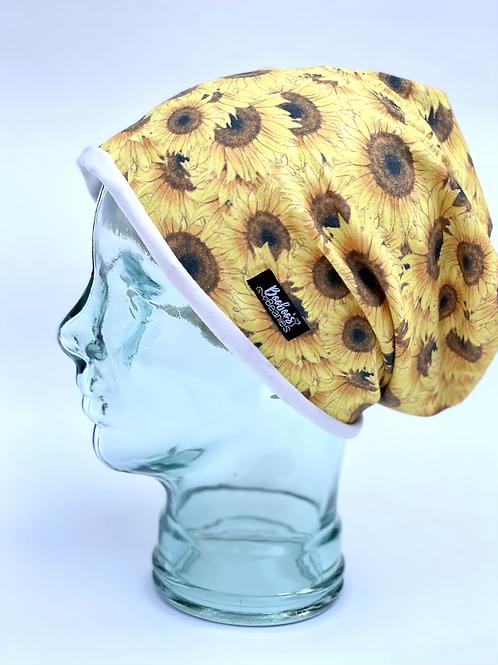 Sunflower Slouchy Beanie