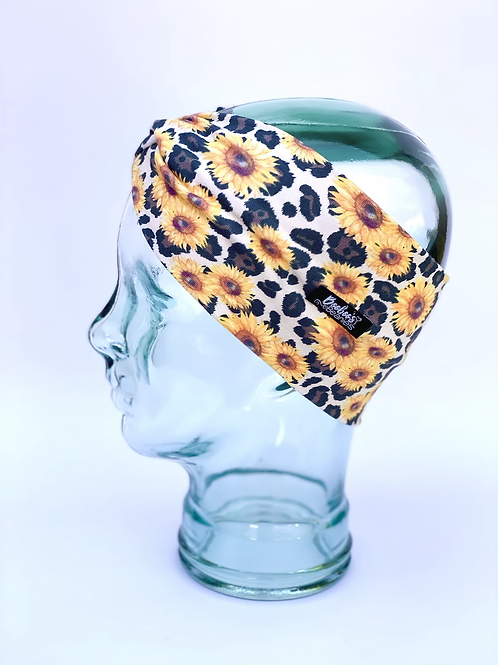 Jaguar Sunflower Headband