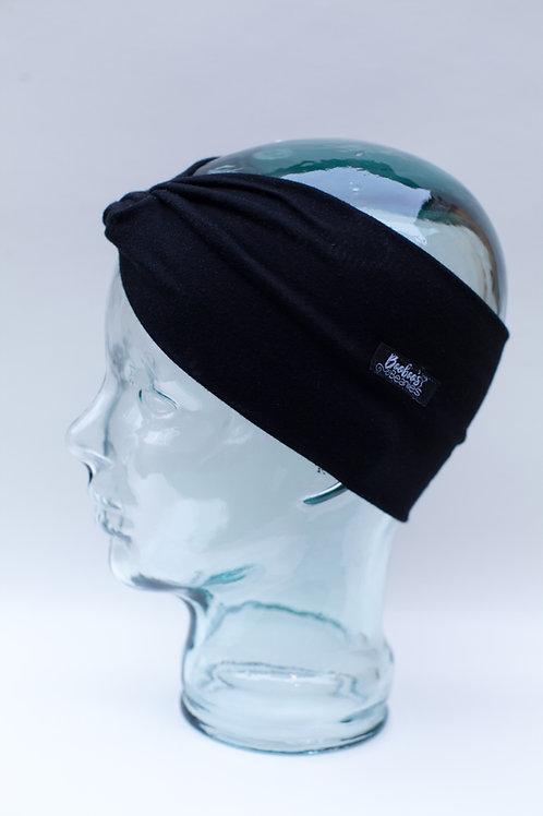 Black Headband, organic