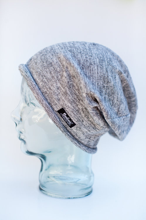 hey GREY. Slouchy Beanie (unlined)