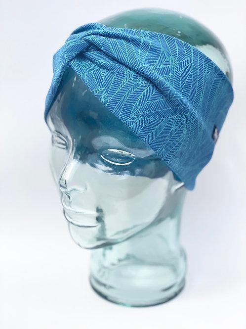 On the Wing of a Bluebird Headband