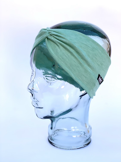 Mint heathered headband
