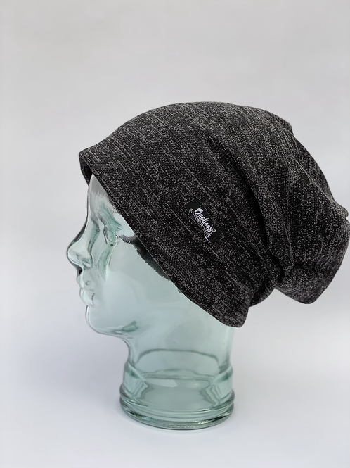 Sparkle On, Darling (lined slouchy beanie)