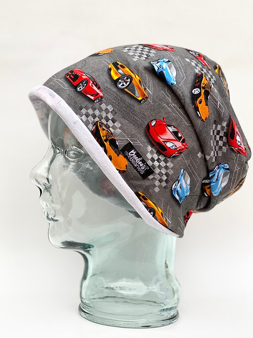 Super Cars Slouchy Beanie (unlined)