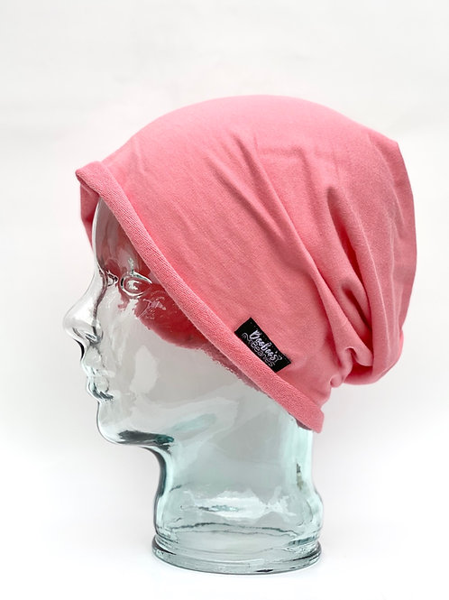 Light Salmon Slouchy Beanie (Unlined)