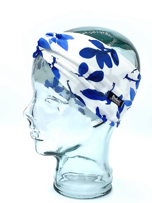 Blue Petal Headband