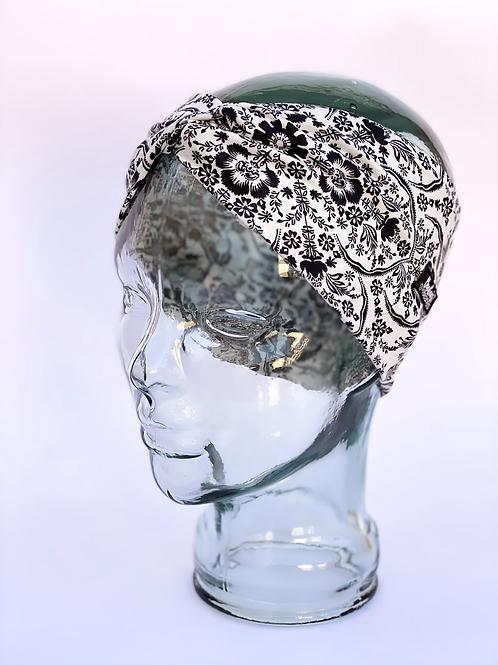 Damask Flowers Headband