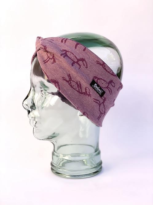 Stick Horses Headband - Purple