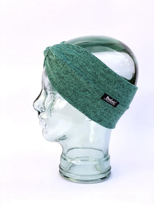 Soft teal headband