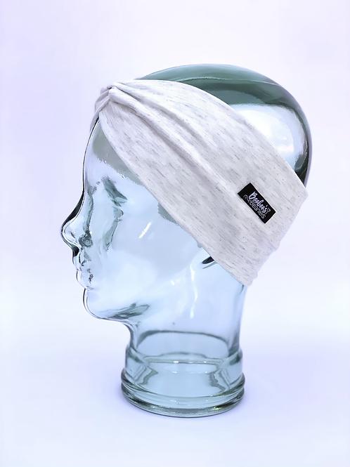 White heather headband
