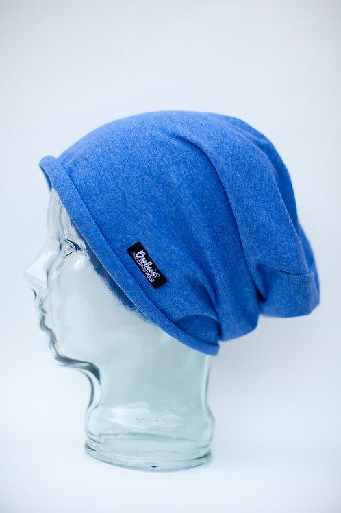 Cobalt Blue Slouchy Beanie