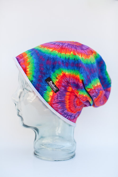 Tie-Dyed Slouchy Beanie