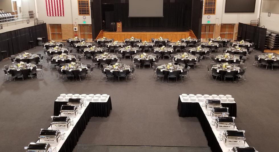 Great Hall Banquet Setup