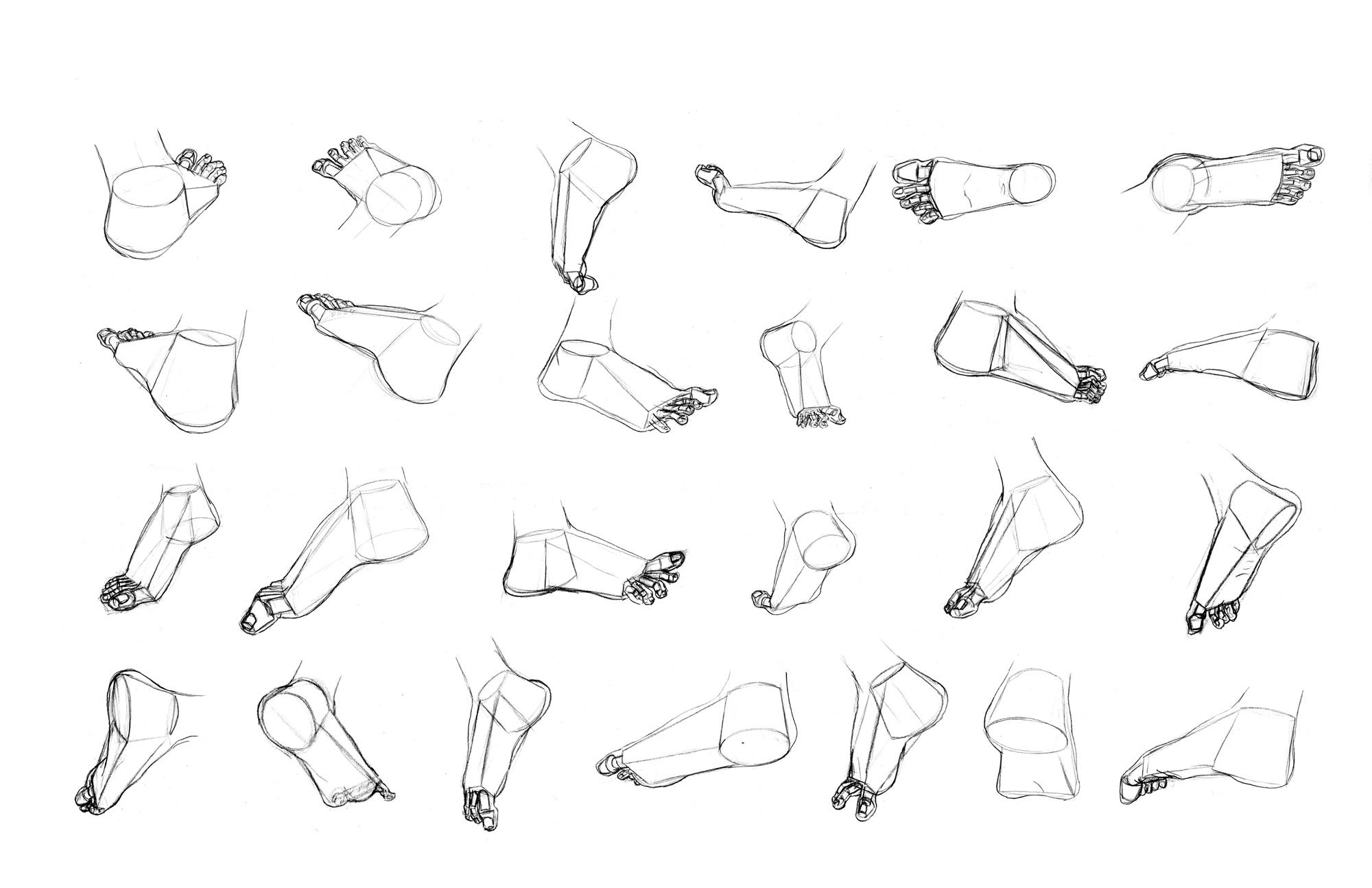 Feet Poses