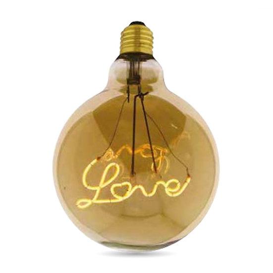 LED ŽARULJA FILAMENT CURVED LOVE
