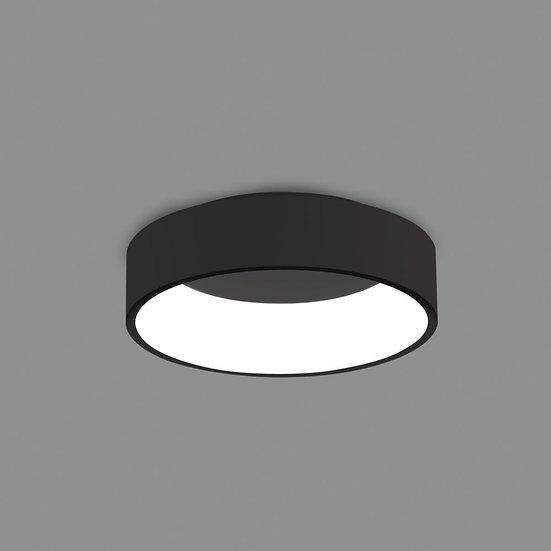 STROPNA LAMPA ACB DILGA BLACK 30CM