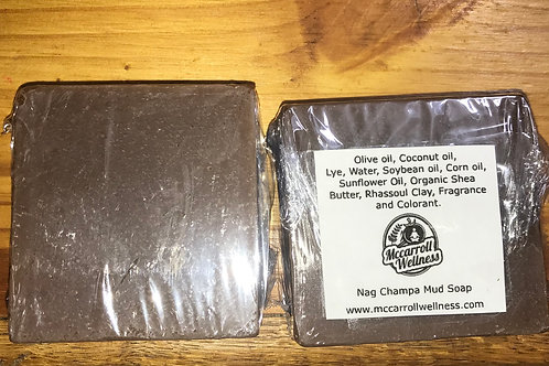 Nag Champa Mud Soap