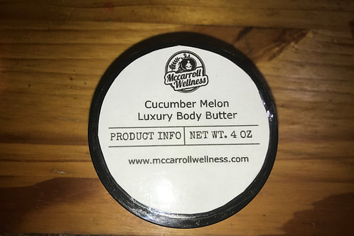 Cucumber Melon Luxury Body Butter