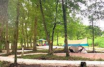 鳥取にちなんむらモクモクキャンプ キャンプ