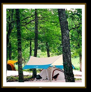 鳥取にちなんむらモクモクキャンプ テント