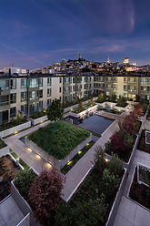 Northpoint Apartments courtyard San Francisco California