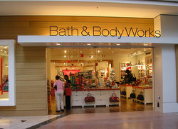 Bath and Body Works retail architect