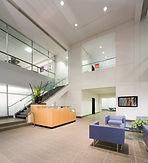 MBH's new office lobby