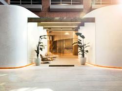 Equinox studio arch design